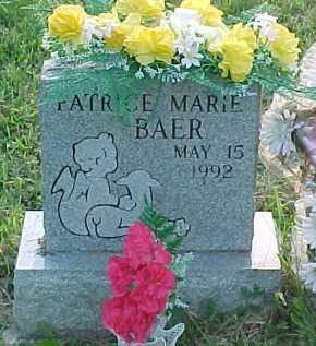 BAER, PATRICE MARIE - Scioto County, Ohio | PATRICE MARIE BAER - Ohio Gravestone Photos