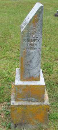 BAILEY, JOEL - Scioto County, Ohio | JOEL BAILEY - Ohio Gravestone Photos
