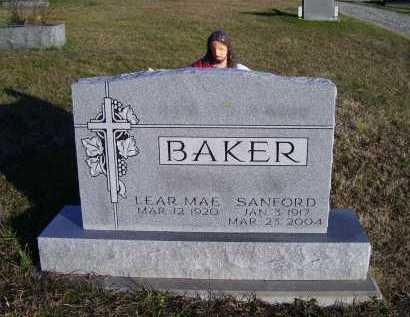 BAKER, LEAR MAE - Scioto County, Ohio | LEAR MAE BAKER - Ohio Gravestone Photos