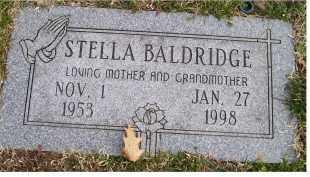 BALDRIDGE, STELLA - Scioto County, Ohio | STELLA BALDRIDGE - Ohio Gravestone Photos