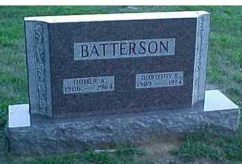 BATTERSON, HOMER A. - Scioto County, Ohio | HOMER A. BATTERSON - Ohio Gravestone Photos