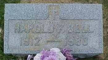 BELL, HAROLD F. - Scioto County, Ohio | HAROLD F. BELL - Ohio Gravestone Photos