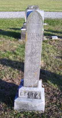 BELTZ, DANIEL - Scioto County, Ohio | DANIEL BELTZ - Ohio Gravestone Photos