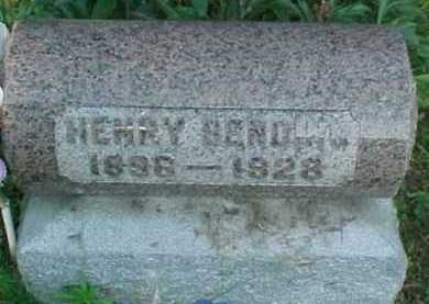 BENDING, HENRY - Scioto County, Ohio | HENRY BENDING - Ohio Gravestone Photos