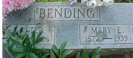 BENDING, MARY E. - Scioto County, Ohio | MARY E. BENDING - Ohio Gravestone Photos