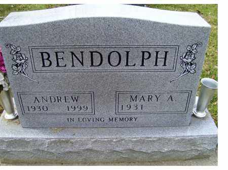 BENDOLPH, MARY A. - Scioto County, Ohio | MARY A. BENDOLPH - Ohio Gravestone Photos