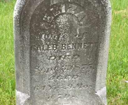 BENNETT, ELIZA - Scioto County, Ohio | ELIZA BENNETT - Ohio Gravestone Photos