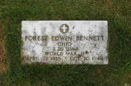 BENNETT, FOREST EDWIN - Scioto County, Ohio | FOREST EDWIN BENNETT - Ohio Gravestone Photos