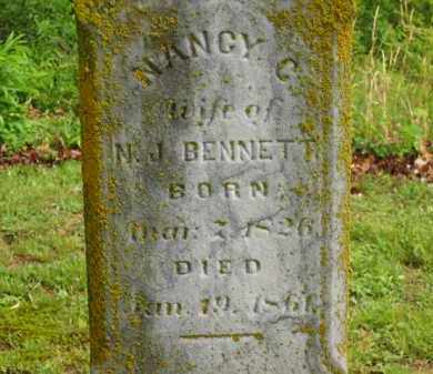 BENNETT, N. J. - Scioto County, Ohio | N. J. BENNETT - Ohio Gravestone Photos