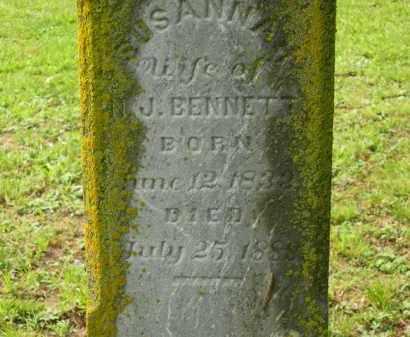 BENNETT, SUSANNAH - Scioto County, Ohio | SUSANNAH BENNETT - Ohio Gravestone Photos