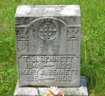 BENNETT, T. J. - Scioto County, Ohio | T. J. BENNETT - Ohio Gravestone Photos