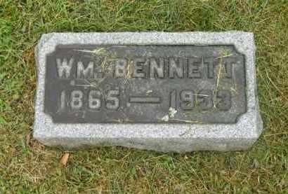 BENNETT, WILLIAM - Scioto County, Ohio | WILLIAM BENNETT - Ohio Gravestone Photos