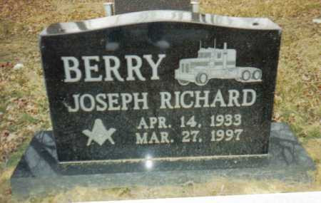 BERRY, JOSEPH RICHARD - Scioto County, Ohio | JOSEPH RICHARD BERRY - Ohio Gravestone Photos