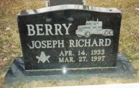 BERRY, JOSEPH RICHARD - Scioto County, Ohio | JOSEPH RICHARD BERRY - Ohio Gravestone Photos