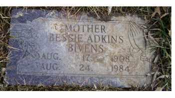 ADKINS BIVENS, BESSIE - Scioto County, Ohio | BESSIE ADKINS BIVENS - Ohio Gravestone Photos