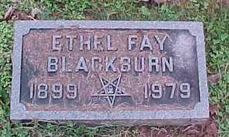 BLACKBURN, ETHEL FAY - Scioto County, Ohio | ETHEL FAY BLACKBURN - Ohio Gravestone Photos