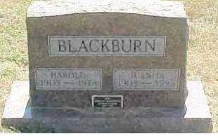 BLACKBURN, HAROLD - Scioto County, Ohio | HAROLD BLACKBURN - Ohio Gravestone Photos