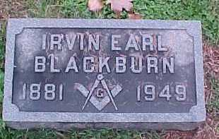 BLACKBURN, IRVIN - Scioto County, Ohio | IRVIN BLACKBURN - Ohio Gravestone Photos