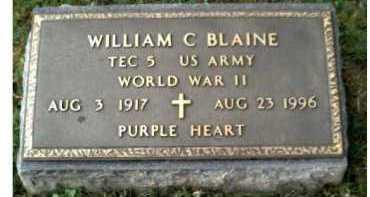 BLAINE, WILLIAM C. - Scioto County, Ohio | WILLIAM C. BLAINE - Ohio Gravestone Photos