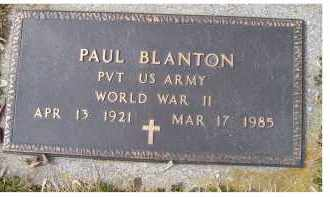 BLANTON, PAUL - Scioto County, Ohio | PAUL BLANTON - Ohio Gravestone Photos