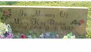 BOEHM, MARY KAY - Scioto County, Ohio | MARY KAY BOEHM - Ohio Gravestone Photos