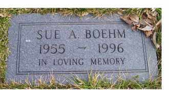 BOEHM, SUE A. - Scioto County, Ohio | SUE A. BOEHM - Ohio Gravestone Photos