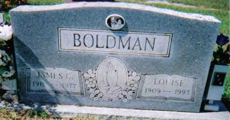 BOLDMAN, JAMES C. - Scioto County, Ohio | JAMES C. BOLDMAN - Ohio Gravestone Photos