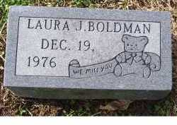 BOLDMAN, LAURA J. - Scioto County, Ohio | LAURA J. BOLDMAN - Ohio Gravestone Photos