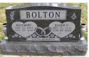 BOLTON, ROSEMARY - Scioto County, Ohio | ROSEMARY BOLTON - Ohio Gravestone Photos
