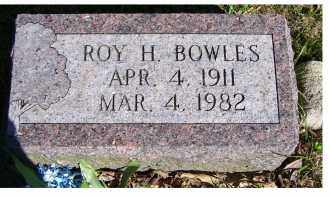 BOWLES, ROY H. - Scioto County, Ohio | ROY H. BOWLES - Ohio Gravestone Photos