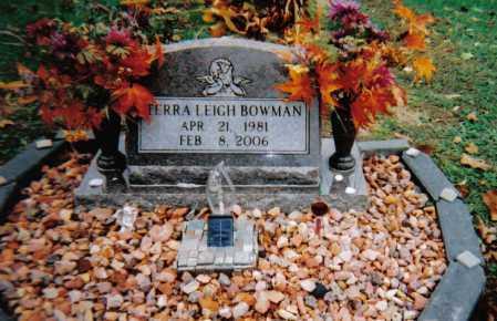 BOWMAN, TERRA LEIGH - Scioto County, Ohio | TERRA LEIGH BOWMAN - Ohio Gravestone Photos
