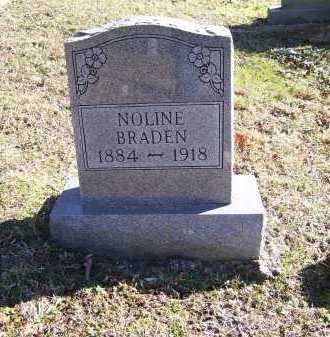 BRADEN, NOLINE - Scioto County, Ohio | NOLINE BRADEN - Ohio Gravestone Photos