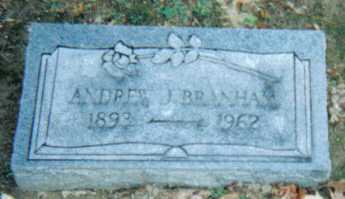 BRANHAM, ANDREW J. - Scioto County, Ohio | ANDREW J. BRANHAM - Ohio Gravestone Photos