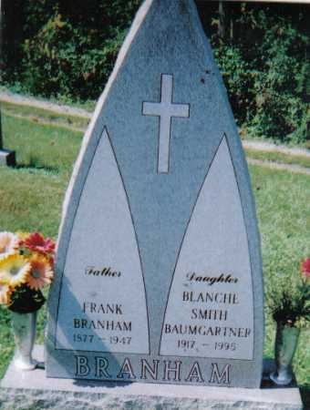 BRANHAM, BLANCHE - Scioto County, Ohio | BLANCHE BRANHAM - Ohio Gravestone Photos