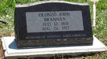 BRANNAN, OLONZO JOHN - Scioto County, Ohio | OLONZO JOHN BRANNAN - Ohio Gravestone Photos