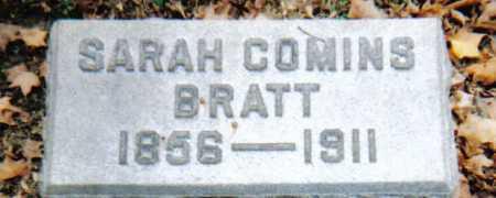 COMINS BRATT, SARAH - Scioto County, Ohio | SARAH COMINS BRATT - Ohio Gravestone Photos