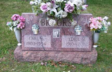 BROOKS, EDRIE M. - Scioto County, Ohio | EDRIE M. BROOKS - Ohio Gravestone Photos