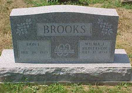 BROOKS, WILMA J. - Scioto County, Ohio | WILMA J. BROOKS - Ohio Gravestone Photos