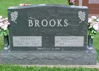 BROOKS, SHERMAN - Scioto County, Ohio | SHERMAN BROOKS - Ohio Gravestone Photos