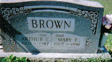 BROWN, ARTHUR E. - Scioto County, Ohio | ARTHUR E. BROWN - Ohio Gravestone Photos