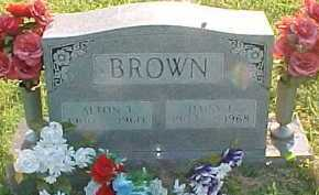 BROWN, DAISY E. - Scioto County, Ohio | DAISY E. BROWN - Ohio Gravestone Photos