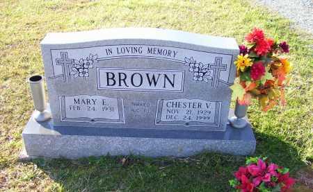 BROWN, CHESTER V. - Scioto County, Ohio | CHESTER V. BROWN - Ohio Gravestone Photos
