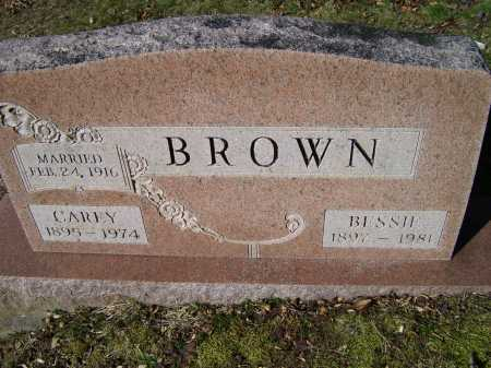 BROWN, BESSIE - Scioto County, Ohio | BESSIE BROWN - Ohio Gravestone Photos