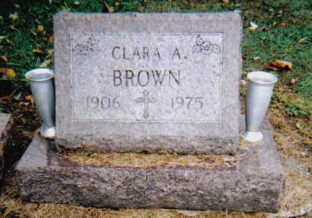 BROWN, CLARA A. - Scioto County, Ohio | CLARA A. BROWN - Ohio Gravestone Photos