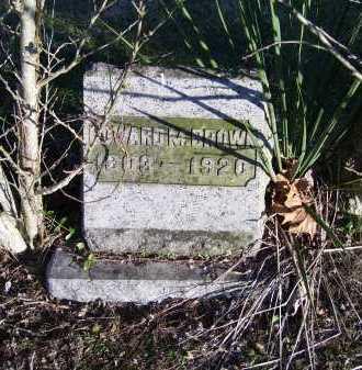 BROWN, EDWARD M. - Scioto County, Ohio | EDWARD M. BROWN - Ohio Gravestone Photos