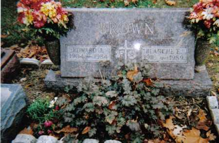 BROWN, BLANCHE E. - Scioto County, Ohio | BLANCHE E. BROWN - Ohio Gravestone Photos