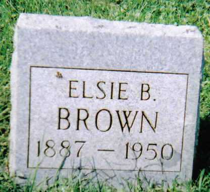 BROWN, ELSIE B. - Scioto County, Ohio | ELSIE B. BROWN - Ohio Gravestone Photos