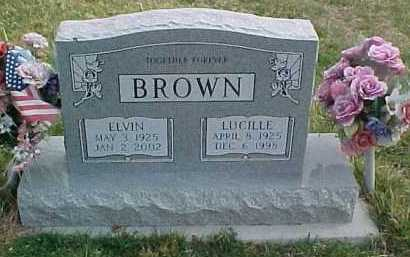 BROWN, ELVIN - Scioto County, Ohio | ELVIN BROWN - Ohio Gravestone Photos