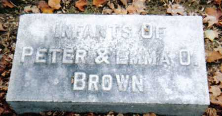 BROWN, INFANTS - Scioto County, Ohio | INFANTS BROWN - Ohio Gravestone Photos