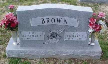 BROWN, RICHARD G. - Scioto County, Ohio | RICHARD G. BROWN - Ohio Gravestone Photos